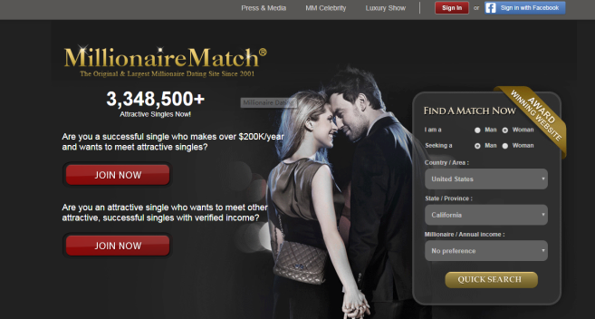 Internet dating site? And with a new scam.